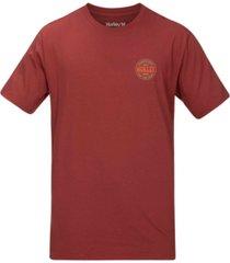 hurley men's groovy logo t-shirt