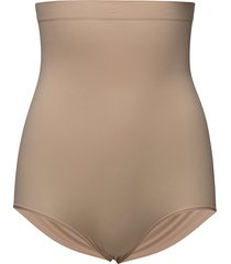 higher panties lingerie shapewear bottoms beige spanx
