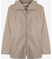 cotton blouson jacket