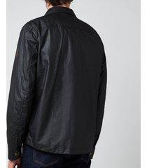 belstaff men's dunstall jacket - black - xxl