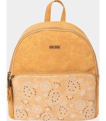 mochila amarillo secret