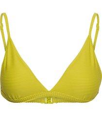 essentials fixed tri bra bikinitop grön seafolly