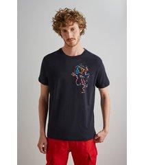 camiseta estampada frog reserva preto - preto - masculino - dafiti
