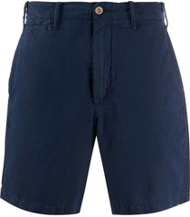 polo ralph lauren fitted chino shorts - blue