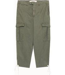 haikure pantalone kombat in tessuto militare