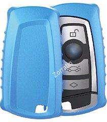 soft thin matte keyless key case cover fit bmw f10 f20 f30 f13 f01 f25 3 or 4 bu