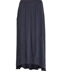 nonogarden knälång kjol blå american vintage
