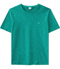 camiseta tradicional fio a fio wee! verde água - p