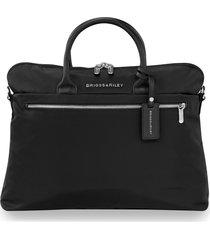 men's briggs & riley slim business briefcase -