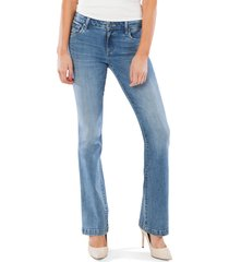 women's kut from the kloth stella relaxed flare jeans