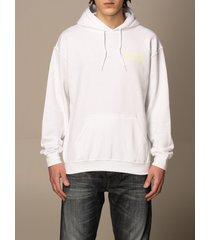 backsideclub sweatshirt kim backsideclub cotton sweatshirt with back print