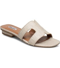 loupe shoes summer shoes flat sandals beige dune london