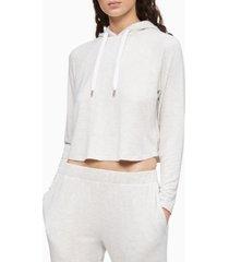 calvin klein pure lounge long sleeve hoodie