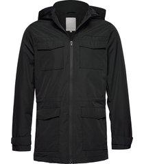 outerwear cfjesper m65 field jacket parka jas zwart casual friday