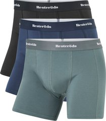 boxershorts organic cotton long leg 3-pack