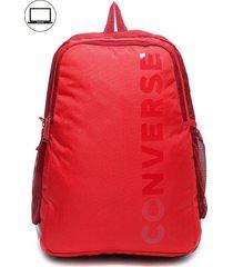 mochila speed 3 rojo converse