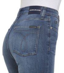 jeans skinny azul calvin klein