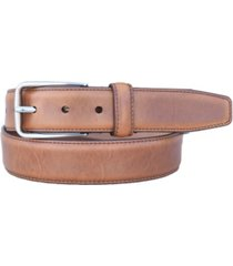 lejon men's cambridge oil tanned harness leather bridge casual dress belt