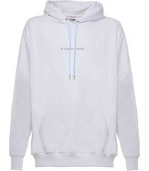 family first milano hoodie iconic white