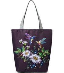 donna canvas print leisure borsa a tracolla borsa