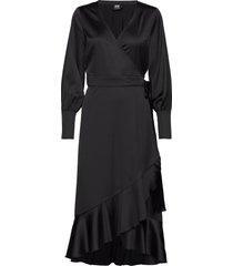 tammy dress jurk knielengte zwart twist & tango