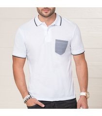 camiseta alfonso blanco para hombre croydon