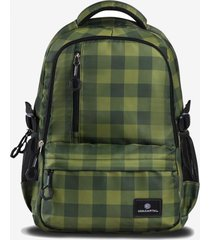 mochila covent 15,6 porta laptop verde coolcapital