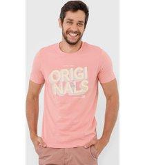 camiseta jack & jones rosette rosa