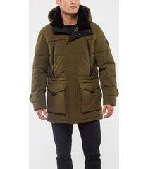 vince camuto men's faux down parka jacket