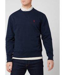 polo ralph lauren men's fleece crewneck sweatshirt - cruise navy - xxl