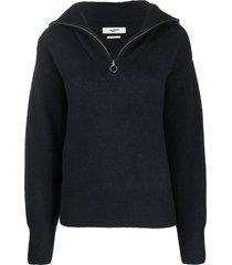 isabel marant étoile fine knit pullover jumper - grey