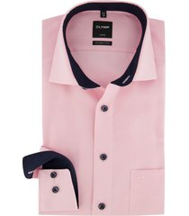 olymp overhemd roze luxor modern fit