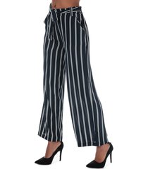 only womens winner striped palazzo pants size 10 in blue