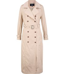 trench lungo con cintura (marrone) - bpc bonprix collection