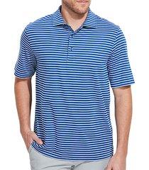jim nantz cypress stripe polo t-shirt