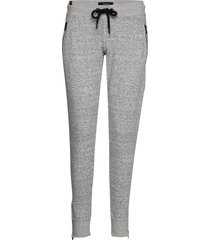 fashion luxe jogger sweatpants mjukisbyxor grå superdry