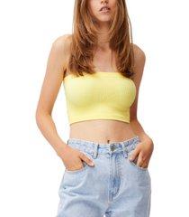 women's samantha seamless rib tube top