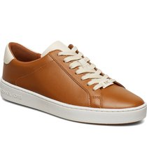 irving lace up låga sneakers brun michael kors shoes