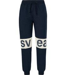 sweatshirtbyxor 2 col big svea logo sweat pants
