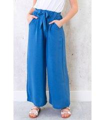 bali palazzo pants 7/8 jeansblue