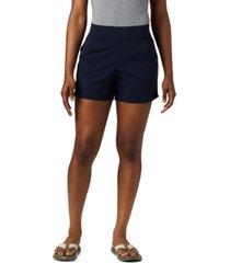 columbia women's anytime omni-shield shorts