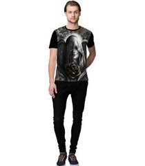 camiseta stompy brown rose masculino