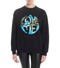alberta ferretti - love me sweatshirt