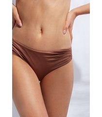 calzedonia high waist swimsuit bottom indonesia eco woman brown size 5