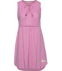 artful dress korte jurk roze odd molly