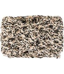 0711 crisscross knit headband - neutrals