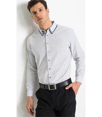 business overhemd met dubbele kraag