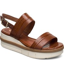 woms sandals shoes summer shoes heeled sandals brun tamaris
