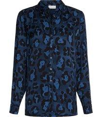 fez blouse insignia blue black