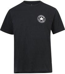 t-shirt puffed chuck patch short sleeve tee